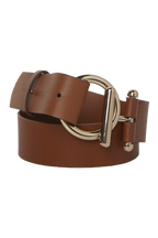 O RING BELT in colour TAN