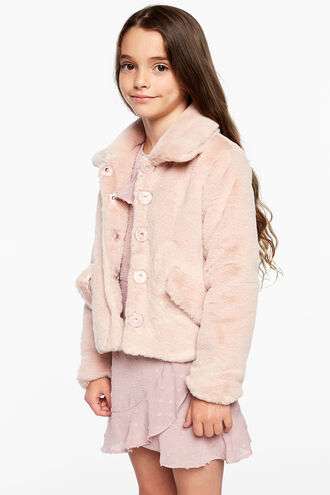 COLE PLUSH JKT in colour SHELL