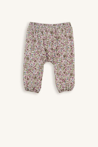 GERTIE HAREM PANT in colour IRIS