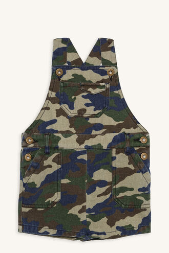 CAMO OVERALL in colour DRESS BLUES