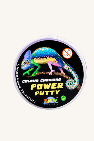 POWER PUTTY - COLOUR CHANGING in colour BRIGHT WHITE