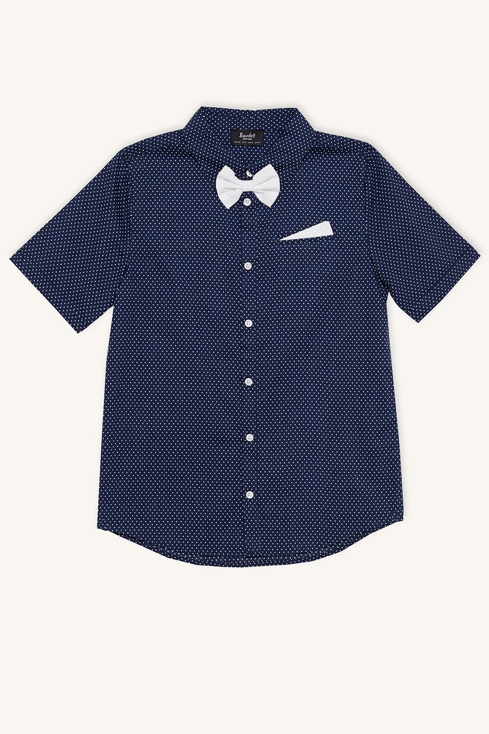 SPOT SHIRT in colour BLUE INDIGO