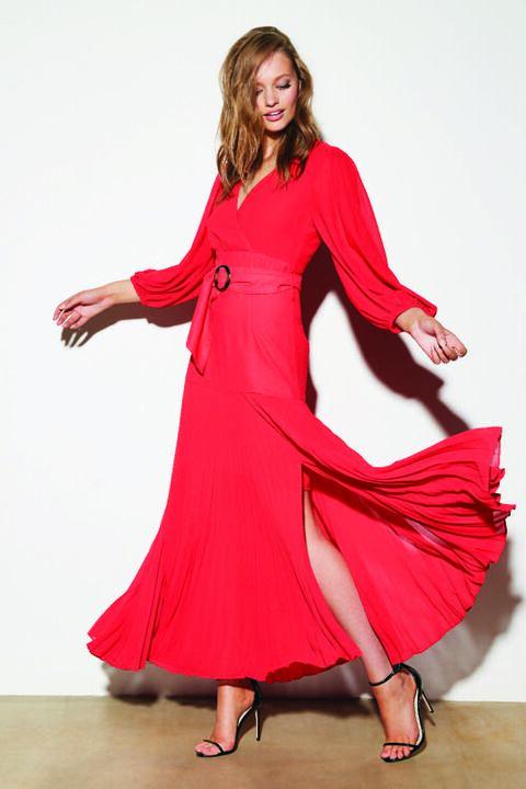 DAYTONA DRESS in colour HIGH RISK RED