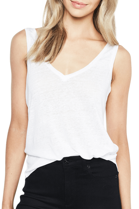 RIKI TANK TOP in colour BRIGHT WHITE