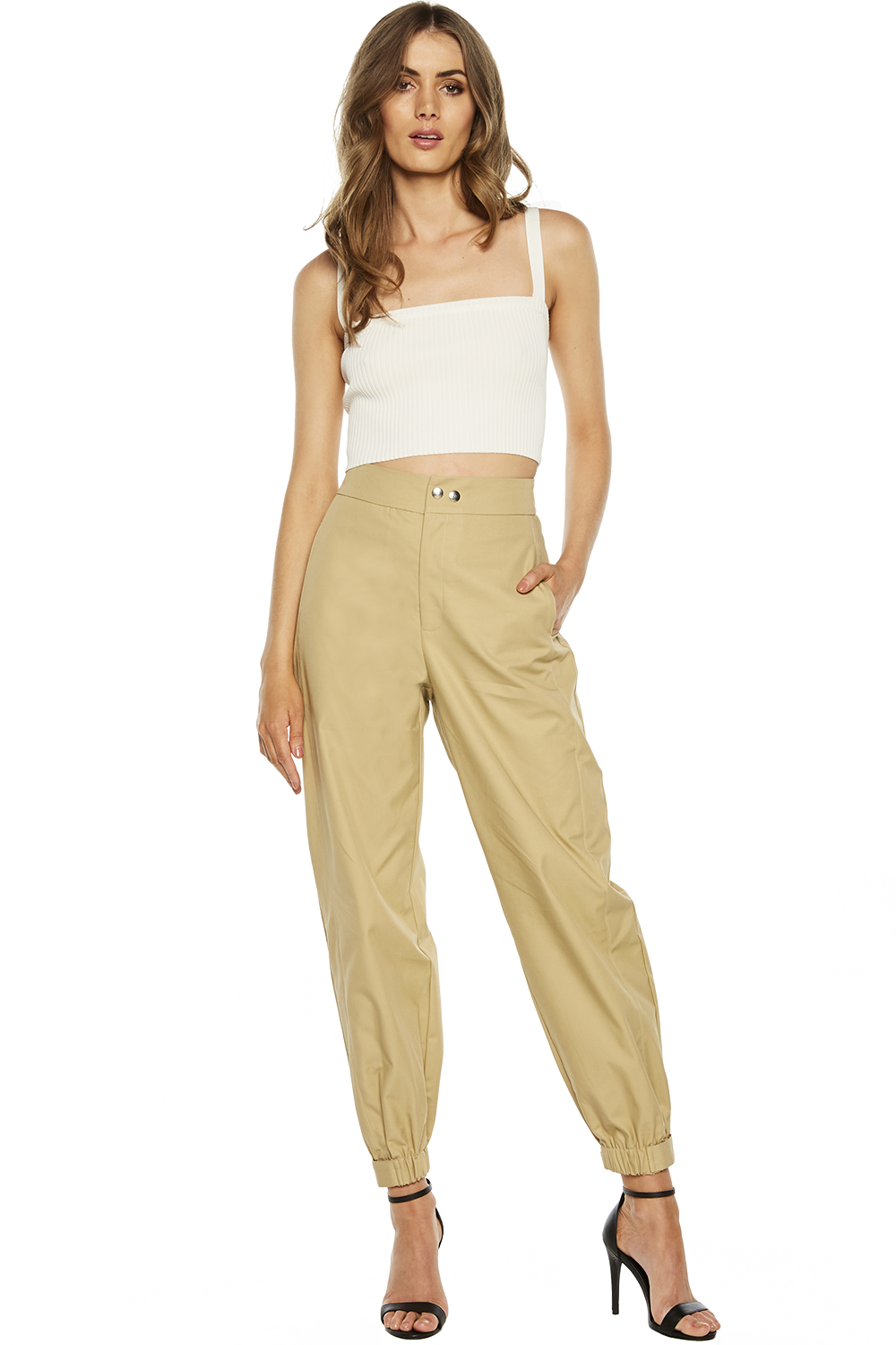 MISCHIEF PANT in colour CURDS & WHEY