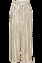 KELLIE PLISSE PANT in colour WHITE SWAN