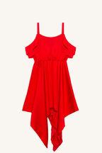 MINA HANKY DRESS in colour LOLLIPOP