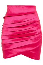 DARLA WRAP MINI in colour SHOCKING PINK