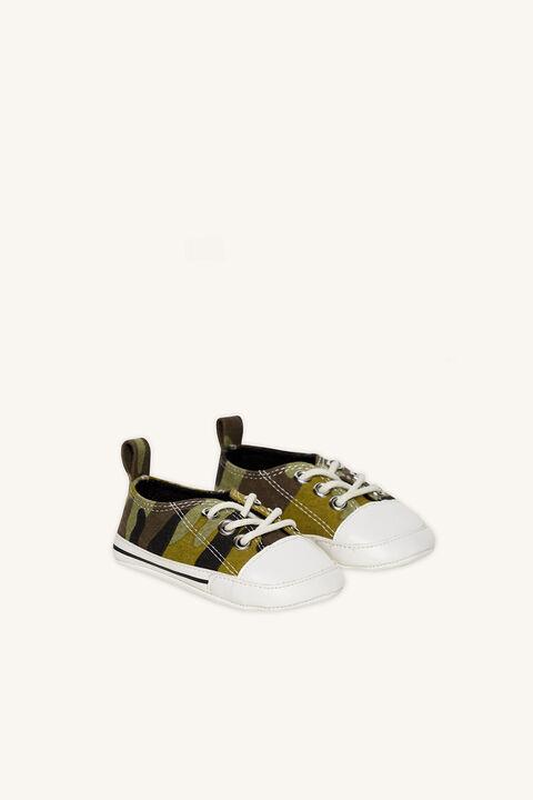 Baby Boy mini sneaker in colour BRIGHT WHITE