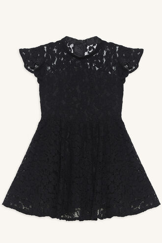 KATANNA LACE DRESS in colour JET BLACK