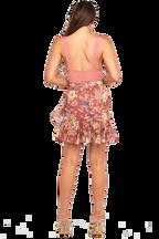 ALI BODYSUIT in colour BRANDIED APRICOT