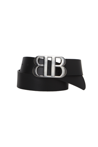 BB BUCKLE BELT in colour SILVER