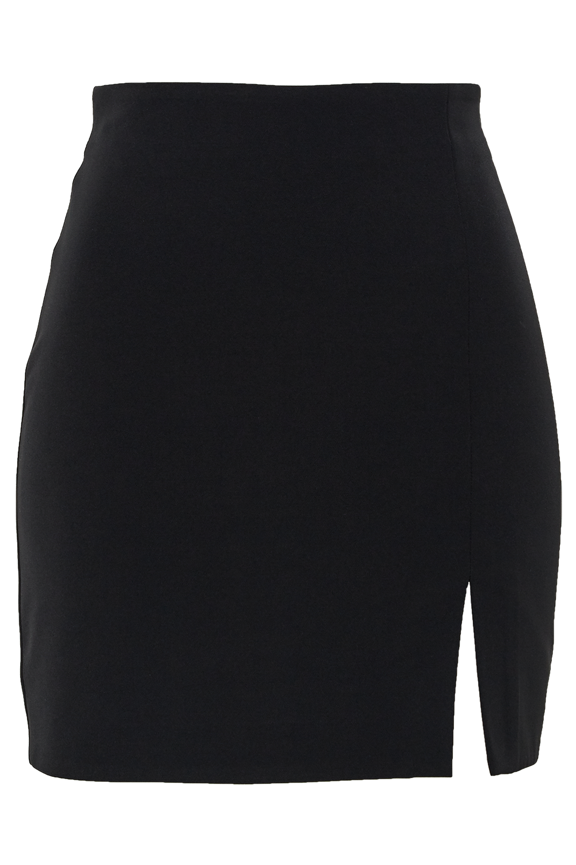 BRITT MINI SKIRT in colour CAVIAR