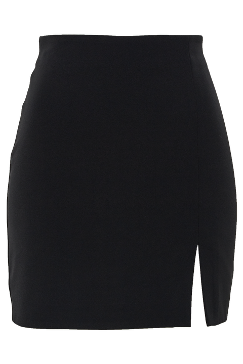 BRITT MINI SKIRT in colour CAVIAR