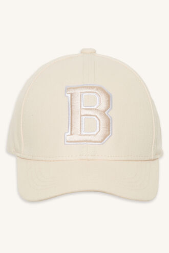 CANVAS B CAP in colour VEILED ROSE