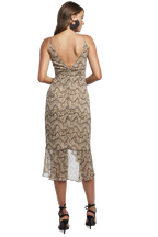 ELLIE MAXI DRESS in colour CLOUD DANCER