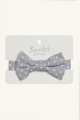 JACK SPOT BOW TIE in colour LIGHT GRAY
