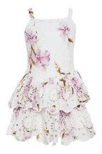 ESTELLE RARA DRESS in colour BLANC DE BLANC