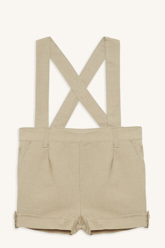 LINEN OVERALL GROW in colour BLEACHED SAND