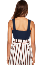 VALENTINE BODYSUIT in colour DRESS BLUES