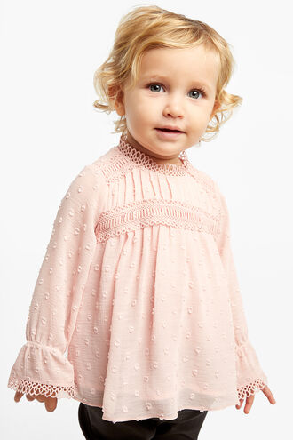 CONSTANCE BLOUSE in colour HEAVENLY PINK