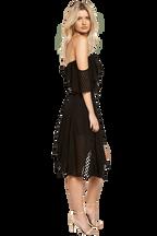 SENORITA DRESS in colour CAVIAR