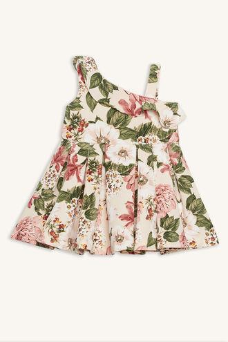 EBONY DRESS in colour SILVER PEONY