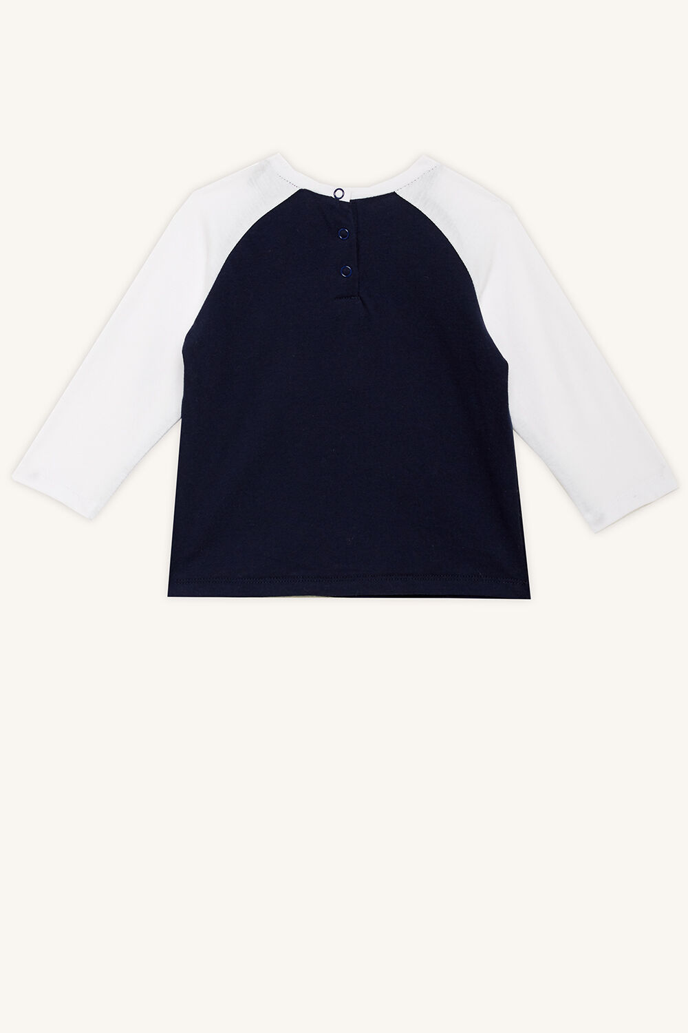 LIL KING LONG SLEEVE TOP in colour DRESS BLUES