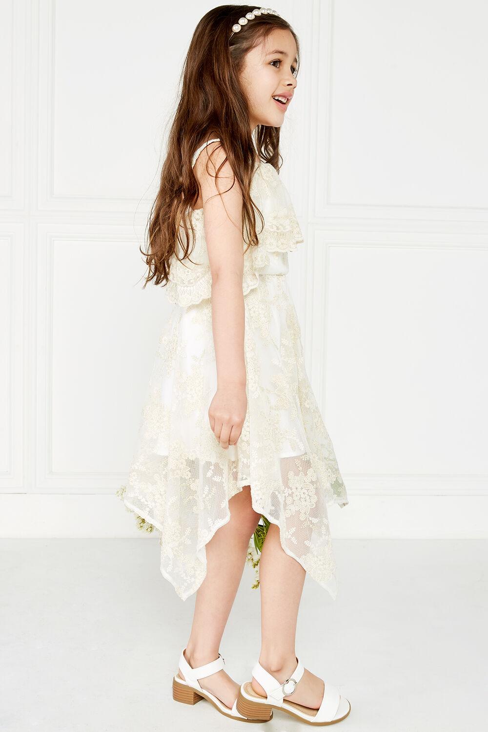 ORIEL HANKY DRESS in colour FROSTED ALMOND