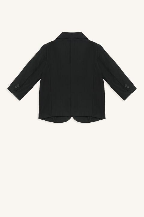 HARRY SUIT JACKET in colour CAVIAR