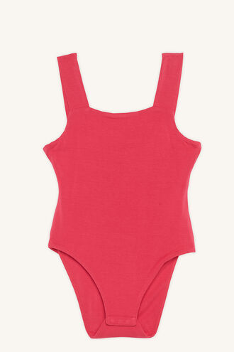 SONIA BODYSUIT in colour BEETROOT PURPLE