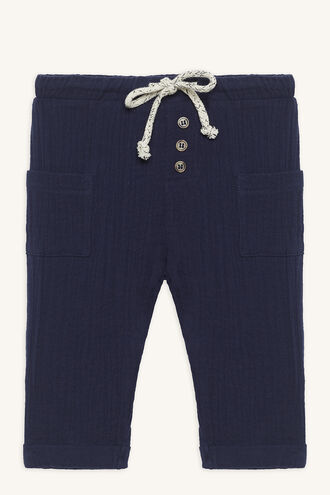 TOPHER SLOUCH PANT in colour ESTATE BLUE