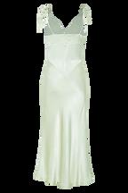 ZELDA SLIP DRESS in colour DUSTY AQUA