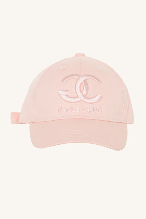 GIRLS CLUB CAP in colour PINK CARNATION