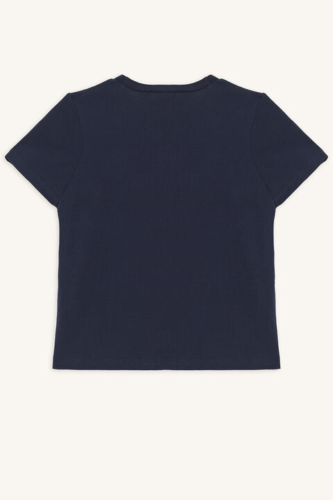 ST TROPEZ TEE in colour DRESS BLUES