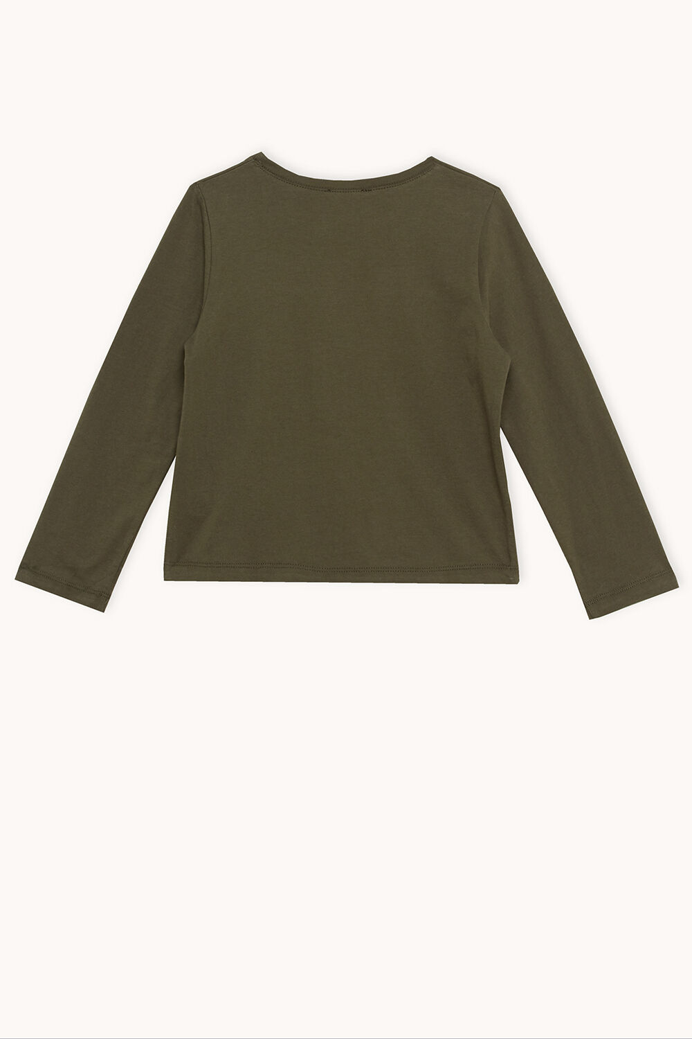 CAMO POCKET TOP in colour COVERT GREEN