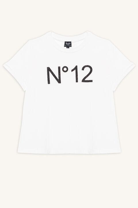 NO.12 TEE in colour CLOUD DANCER