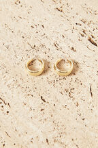 GIGI EARRING  in colour GOLD EARTH