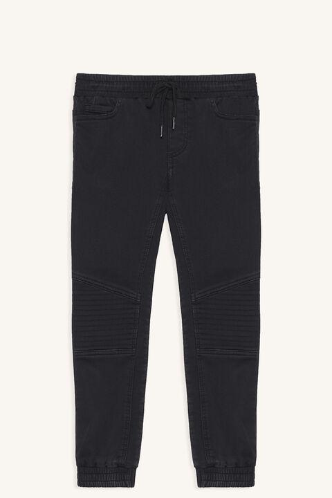 OTIS SLOUCH PANT in colour JET BLACK