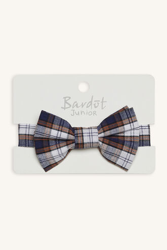 RENNY CHECK BOW TIE in colour BRIGHT WHITE