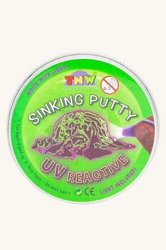 SINKING PUTTY - UV CHANGE W/LIGH in colour BRIGHT WHITE