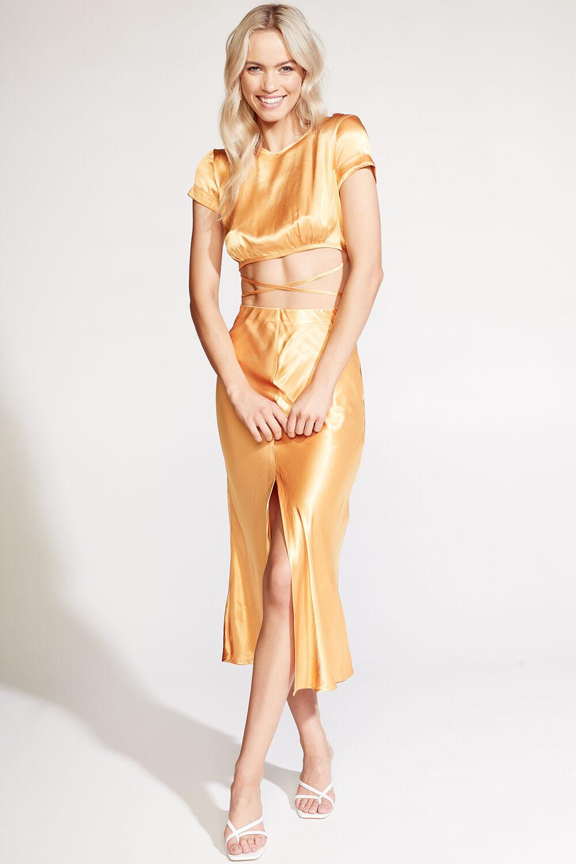 MARIYAH TOP in colour JAFFA ORANGE