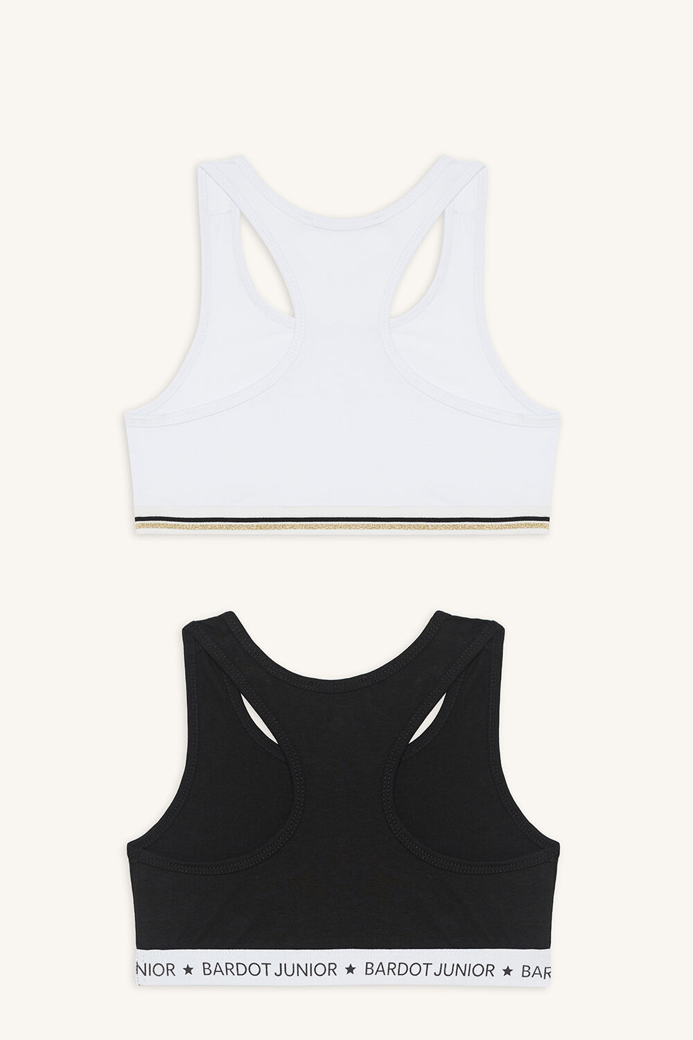 RACER CROP 2 PACK in colour CAVIAR