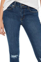 KATE HIPSTER JEAN in colour SODALITE BLUE