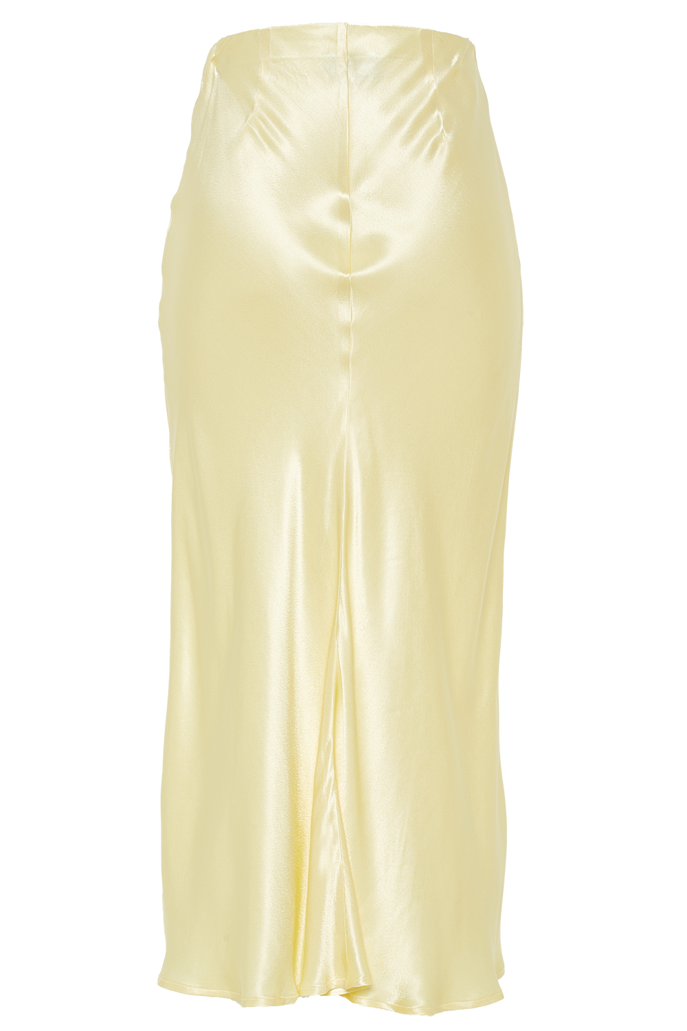 MIDI SLIP SKIRT in colour LIMELIGHT