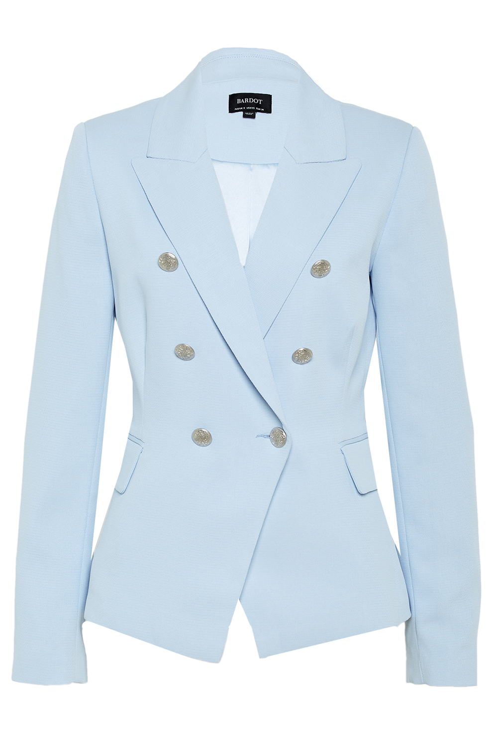 OXFORD BLAZER in colour AQUAMARINE