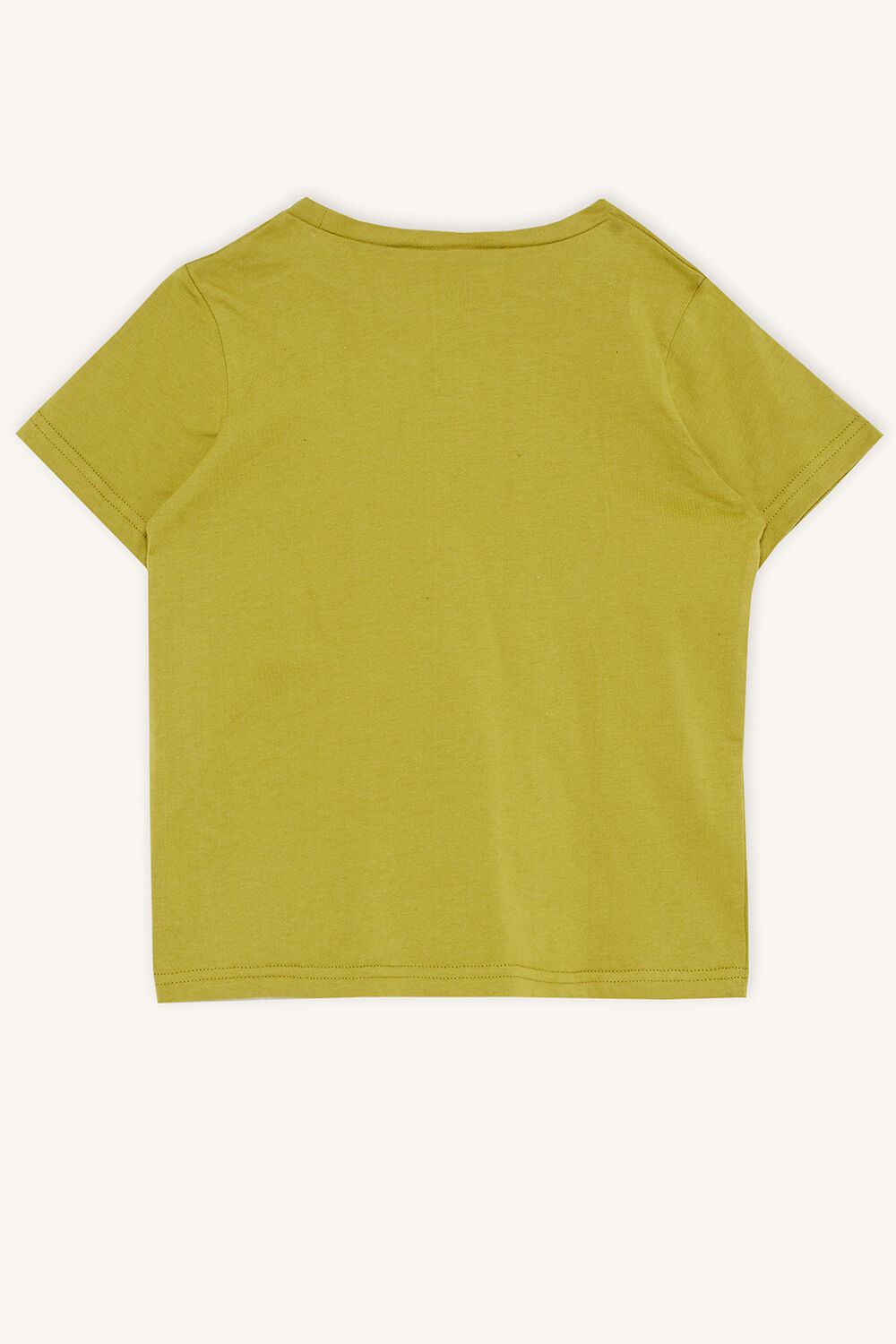 LIKE A KING TEE in colour APPLE GREEN