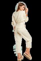 UTILITY JUMPSUIT in colour ANTIQUE WHITE