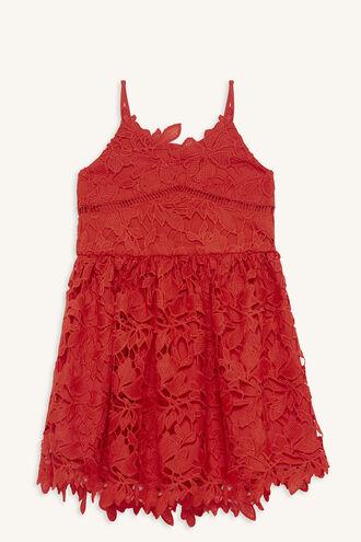 SONYA LACE DRESS in colour LOLLIPOP