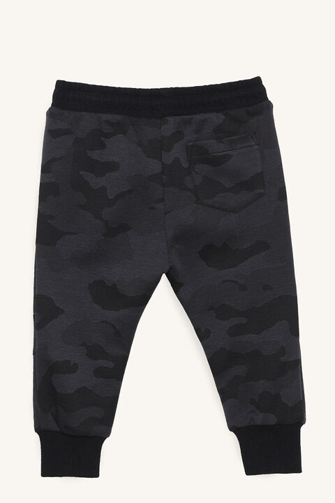 CAMO TRACK PANT in colour BURNT OLIVE